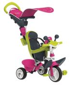 SMOBY Tricycle baby driver confort rose