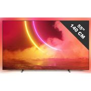 TV OLED 4K 139 cm PHILIPS 55OLED805 , Classe Energetique: B