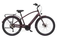 Velo de ville electra townie path go bosch performance 250 watts matt oxblood m 172 182 cm