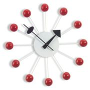 Vitra - Ball Clock, rouge