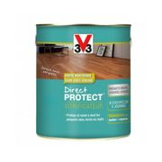 Vitrificateur parquet satin incolore direct protect (2,50) - Contenant (en L) : 2,50